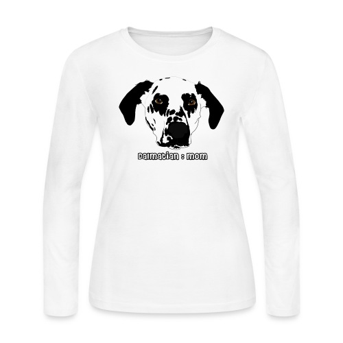 Dalmatian Mom - Women's Long Sleeve Jersey T-Shirt