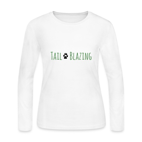Tail Blazing - Women's Long Sleeve Jersey T-Shirt