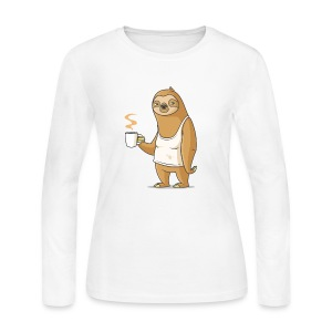 Monday Morning Depresso - Women's Long Sleeve Jersey T-Shirt