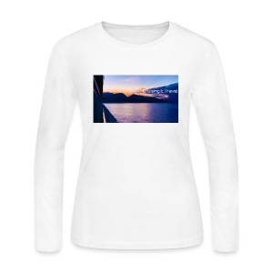 Maui Cruising It Travel - Women's Long Sleeve Jersey T-Shirt