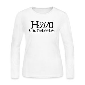 Hello Casualties Leet - Women's Long Sleeve Jersey T-Shirt