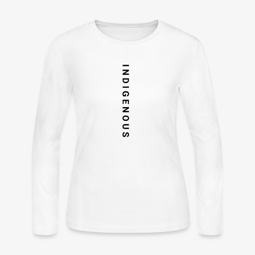 Idigenous apparel - Women's Long Sleeve Jersey T-Shirt