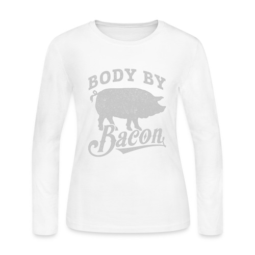 Body by Bacon - Women's Long Sleeve Jersey T-Shirt