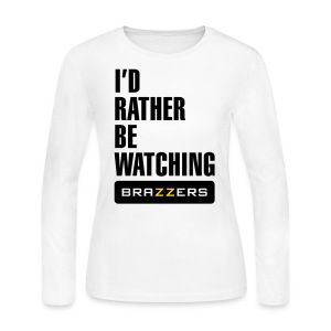 IRBW Brazzers logo - Women's Long Sleeve Jersey T-Shirt