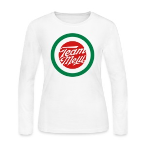 TEAM MELLI RETRO BADGE - Women's Long Sleeve Jersey T-Shirt