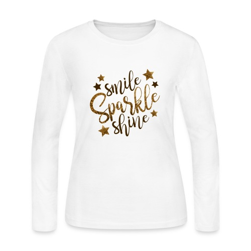 smile - Women's Long Sleeve Jersey T-Shirt