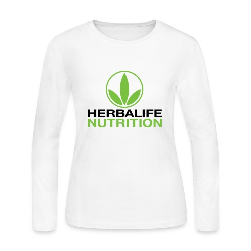 Herbalife Nutrition White Apparel - Women's Long Sleeve Jersey T-Shirt