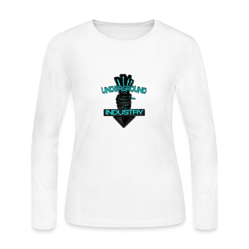 Underground Industry Merchandise - Women's Long Sleeve Jersey T-Shirt