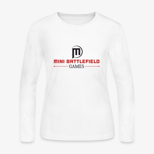 Mini Battlefield Games Logo - Women's Long Sleeve Jersey T-Shirt