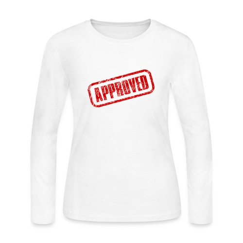 approved logo - Women's Long Sleeve Jersey T-Shirt