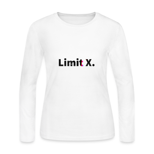 Limit X Logo - Women's Long Sleeve Jersey T-Shirt