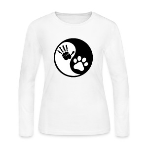 Yin Yang - Women's Long Sleeve Jersey T-Shirt