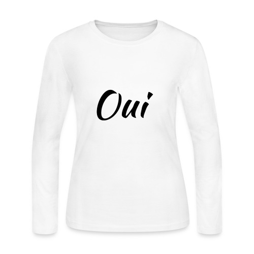 Oui - Women's Long Sleeve Jersey T-Shirt