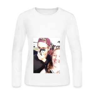 Luke Hemmings with a phone in his face - Women's Long Sleeve Jersey T-Shirt