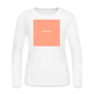 FINESSE [Classic] - Women's Long Sleeve Jersey T-Shirt
