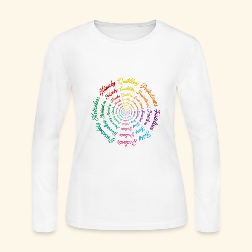 Wordy Tee - Women's Long Sleeve Jersey T-Shirt