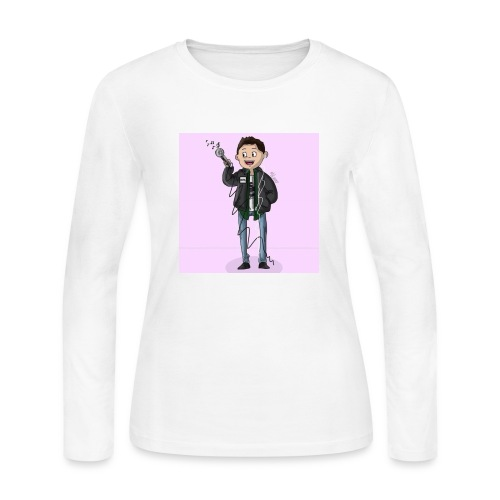 Lil Aver Art - Women's Long Sleeve Jersey T-Shirt