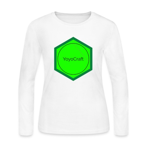 Logomakr 2ZQxx3 - Women's Long Sleeve Jersey T-Shirt
