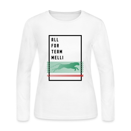 All For Team Melli - Women's Long Sleeve Jersey T-Shirt