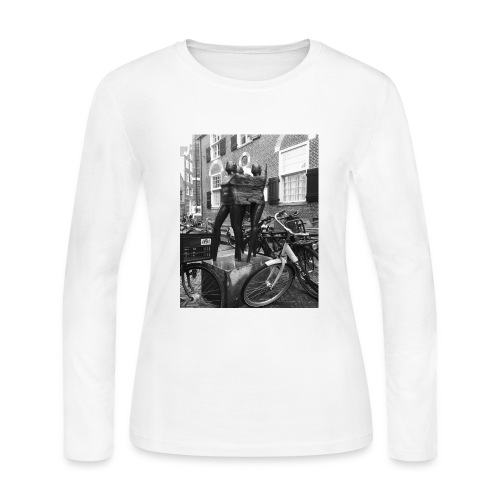 Amsterdam Sculpture - Women's Long Sleeve Jersey T-Shirt