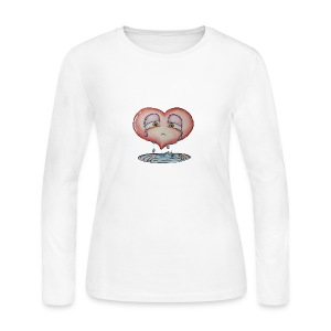 love hurts a little - Women's Long Sleeve Jersey T-Shirt