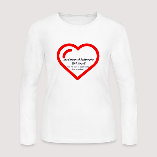 Committed relationship - Women's Long Sleeve Jersey T-Shirt