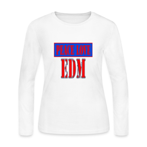 edm - Women's Long Sleeve Jersey T-Shirt