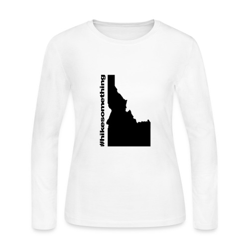 Hike Something Idaho - Women's Long Sleeve Jersey T-Shirt