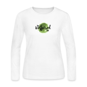 Inspired Life - Women's Long Sleeve Jersey T-Shirt
