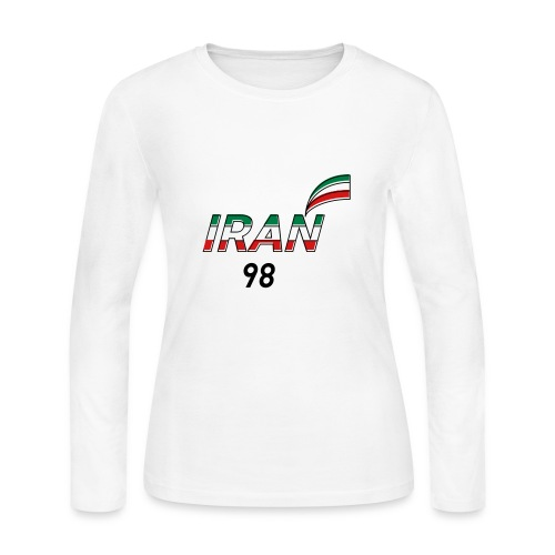 Iran's France 98 20th Anniversary Tee - Women's Long Sleeve Jersey T-Shirt