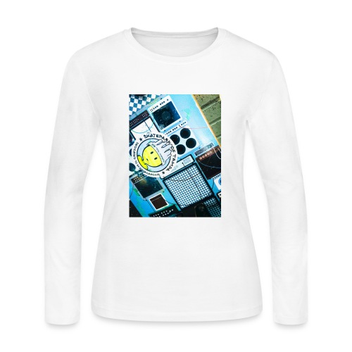 skate - Women's Long Sleeve Jersey T-Shirt