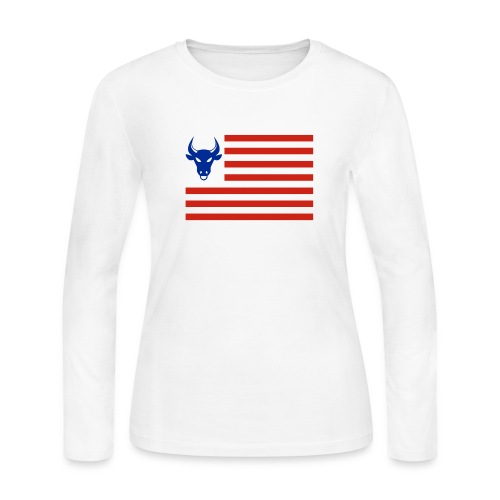 PivotBoss Flag - Women's Long Sleeve Jersey T-Shirt