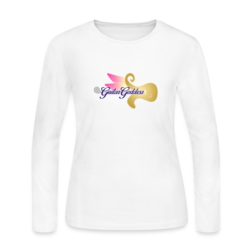 Guitar Goddess - Women's Long Sleeve Jersey T-Shirt