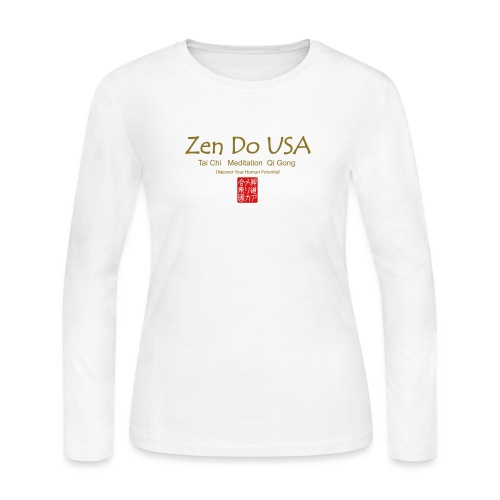 Zen Do USA - Women's Long Sleeve Jersey T-Shirt