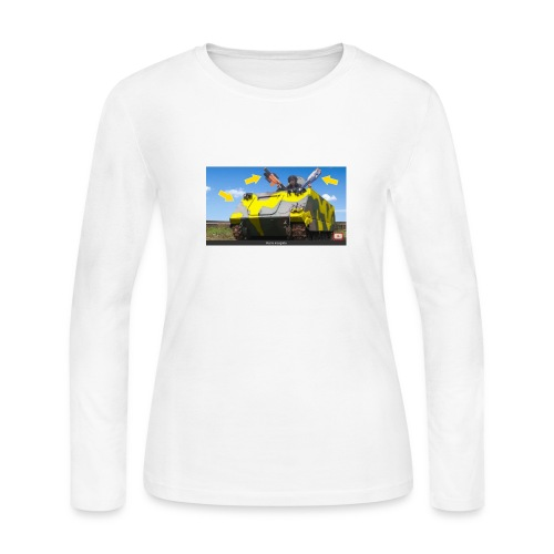 Tank Demolisher - Women's Long Sleeve Jersey T-Shirt