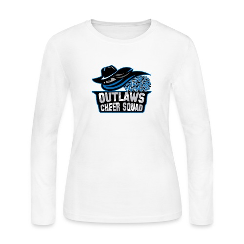 Outlaws Cheer Squad Shop - Women's Long Sleeve Jersey T-Shirt