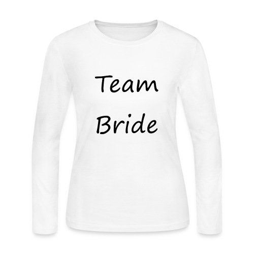Team Bride by ellaland - Women's Long Sleeve Jersey T-Shirt