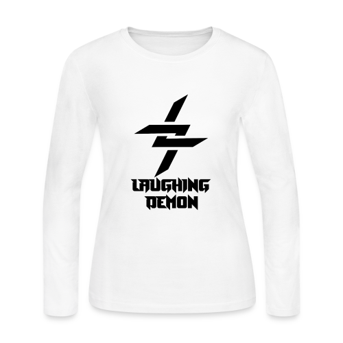 Laughing Demon Dark - Women's Long Sleeve Jersey T-Shirt