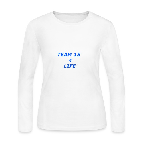 team 15 4 life merch - Women's Long Sleeve Jersey T-Shirt