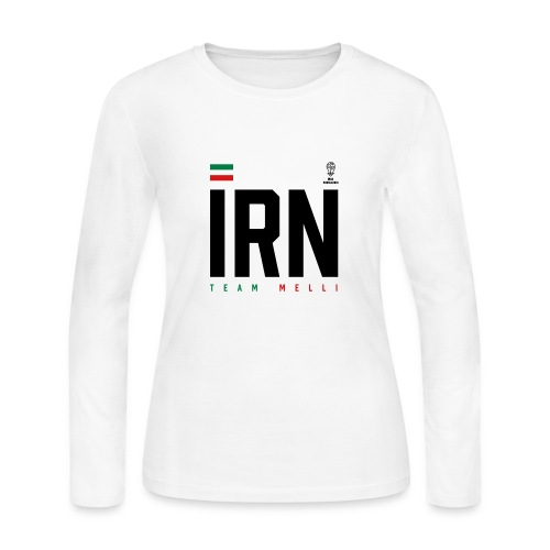 Iranian Apparel World Cup Tee - Women's Long Sleeve Jersey T-Shirt