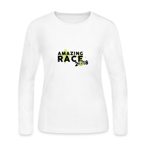 Amazing Race - Women's Long Sleeve Jersey T-Shirt
