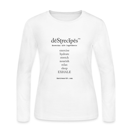 deStrecipes - Merchandise - Women's Long Sleeve Jersey T-Shirt