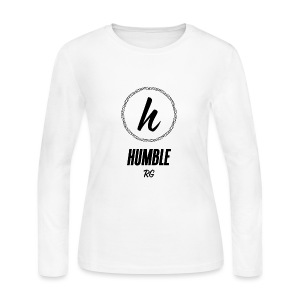 Humble - Women's Long Sleeve Jersey T-Shirt