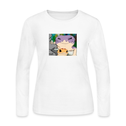 Geckos - Women's Long Sleeve Jersey T-Shirt