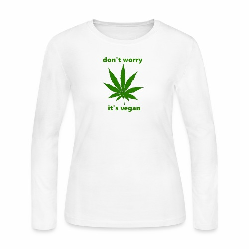 weed crap - Women's Long Sleeve Jersey T-Shirt