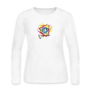 Kingmaker Logo - Women's Long Sleeve Jersey T-Shirt