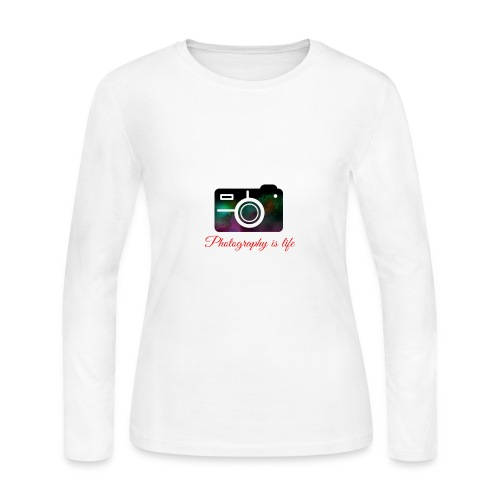 Photography - Women's Long Sleeve Jersey T-Shirt