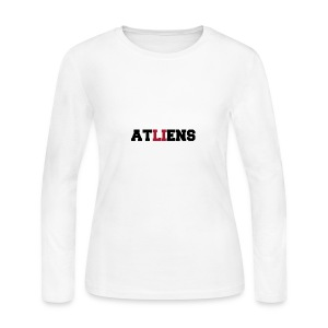 ATLIENS - Women's Long Sleeve Jersey T-Shirt