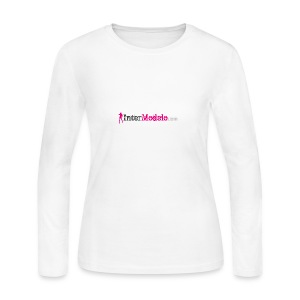 Intermodelo Color Logo - Women's Long Sleeve Jersey T-Shirt