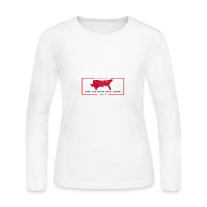 Make the South Great Again! - Women's Long Sleeve Jersey T-Shirt
